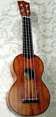 lardyfatboy:    A very nice Ken Timms - His Ukes are very high Quality but usually an a bit samie Martin S0 copy however here he is experimenting with Koa   =Lardys Ukulele of the day - a year ago  ==Lardys Ukulele of the day - 2 years ago --- https://www.pinterest.com/lardyfatboy/