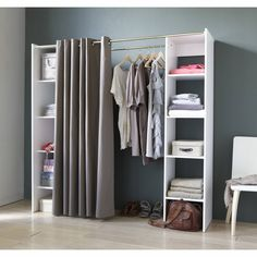 Diy Fitted Wardrobes ( Save House And Add Type ) Diy Wardrobe, Wardrobe Design, Open Wardrobe, Wardrobe Ideas, Diy Fitted Wardrobes, Bedroom Storage, Bedroom Decor, Bedroom Designs, Makeshift Closet