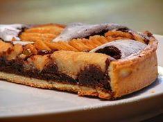 tarte poire - fondant chocolat Miam