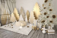Last Trending Get all images christmas backdrop decorations Viral d a e a e cfc a d d Backdrop Decorations, New Years Decorations, Christmas Decorations, Christmas Minis, Christmas Pictures, Christmas Crafts, Christmas Trees, Christmas Backdrops, Christmas Window Display