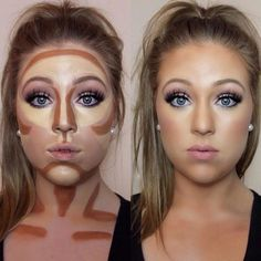 Easy contouring for beginners Image 1 - Makeup Secrets makeup kit, . Easy contouring for beginners Image 1 - Makeup Secrets makeup case, # MAKEUP # Secrets # TutorialfürGesichtsmakeup <-> Easy Contouring, Contouring For Beginners, Makeup For Beginners, How To Contour For Beginners, How To Contour Your Face, Makeup Tips Contouring, Contour Makeup Products, How To Blend Contouring, Makeup Brushes