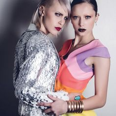 """""""The Hedonists"""" Earrings & Ring CHRISTINA DEBS. photo by Samir Bahrir for Lash Magazine  #ChristinaDebs"""