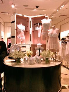 Wedding Lingerie display at Party like a Rock Star Event