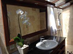 Sea bath Island Villa, Bathroom Lighting, Bali, Mirror, Frame, Sea, Furniture, Home Decor, Homemade Home Decor