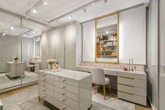 Ikea Wardrobe, Ikea Closet, Closet Office, Closet Mirror, Bathroom Closet, Closet Shelves, White Closet, Walk In Closet, Small Craft Rooms