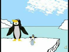 Seís Pinguinos (Hamish Binns y Finis Terrae). Spanish Words, Spanish Class, Teaching Spanish, Free Fun, First Grade, Fun Learning, Little Ones, Literacy, Pikachu