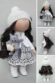 Resultado de imagen para pattern textile doll