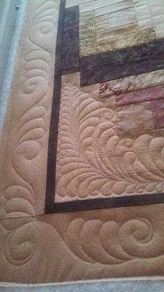 Seamingly Slawson Quilts: Log cabin
