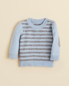 Bloomie's Infant Boys' Cashmere Striped Sweater - Sizes 3-9 Months