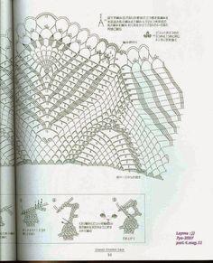 "Photo from album ""Ondori Classic Crochet Lace on Yandex. Crochet Doily Diagram, Crochet Doilies, Crochet Lace, Mantel Redondo A Crochet, Personalized Items, Knitting, Classic, Pattern, Crafts"