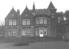 Bankfield House, Taylor Hill, Huddersfield (1864). Taylor Hill, Multi Story Building, Memories, Black And White, House, Black White, Souvenirs, Blanco Y Negro, Home