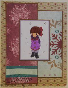 Christmas, Handmade Card by Katelyn