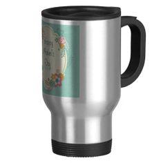 Happy Mother's Day Day Floral Frame Mug