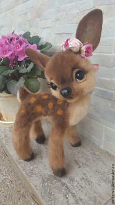 Best 29 Cute Animals photos you never seen before Baby Animals Super Cute, Cute Stuffed Animals, Cute Little Animals, Cute Funny Animals, Needle Felted Animals, Felt Animals, Needle Felting, Wool Felting, Felted Scarf