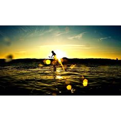 """Gold"" sunset of last night at les Bourdaines.Small wave but good session with friend and good BBQ after #gold #sunset #sea #sexy #sun #summer #friend #BBQ #tbt #underwater #water #picoftheday #photo"