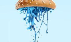 Een hamburgerkwal en een roze sigaret: dit zijn de zonnige collages van Paul Fuentes | Beeldenstorm | De Morgen