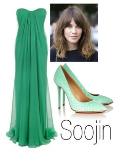 """Soojin - Ballad Stage"" by ekidd on Polyvore featuring Alexander McQueen, Charlotte Olympia, women's clothing, women, female, woman, misses and juniors"