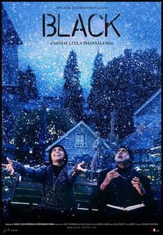 'Black' is a 2005 film made by Sanjay Leela Bhansali based on the life of a blind and deaf girl, and her relationship with her teacher. The movie was inspired by the life and struggle of Helen Keller. Amitabh Bachchan and Rani Mukerji were both applauded for their extraordinary work in the film. Photo credit: http://bit.ly/16uylL7