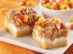 Scarecrow Cookie Bars Recipe | Just A Pinch Recipes