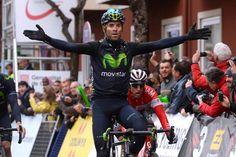 #VoltaCatalunya: #Valverde wins in #Olot! Alejandro Valverde (Movistar) wins stage 2 at Volta Ciclista a Catalunya