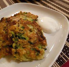 Zabpelyhes-cukkini tócsni Quiche, Cauliflower, Recipies, Paleo, Food And Drink, Meals, Chicken, Vegetables, Breakfast