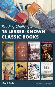 Are you looking for a reading challenge to really test your knowledge of classic literature? Check out these 15 lesser-known classic novels! Cool Books, I Love Books, Books To Read, Reading Books, Reading Lists, Book Lists, Tea And Books, Book Club Books, Classic Literature