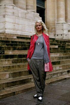 When Last We Saw…….Michelle Jank, Paris « The Sartorialist