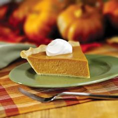 Perfect Pumpkin Pie Recipe- It really was perfect... and unbelievably easy. I used a ready-made pie crust from Pilsbury, and the whole thing took me like 20 mins (besides baking time).