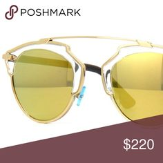 Dior So Real Sunglasses Luxurious and aspirational, Dior is for the elegant and feminine cosmopolitan woman. Blend sophisticated, modern style with a Haute Couture touch and you've got the essence of this trend-setting brand. Christian Dior Accessories Sunglasses