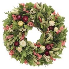 "Karen 24"" Magnolia Wreath & Reviews | Joss & Main"
