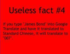 Useless fact #4