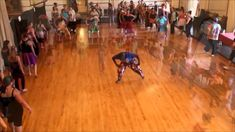Dance Class with Youssouf Koumbassa in Portland, ME 6-20-14