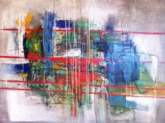 by Deniz Hasenoehrl 2012 acryl on wood 45x60 cm