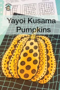 fall art projects for kids Yayoi Kusama is a wonderful contemporary artist to introduce to students for a unique pumpkin art activity! This set will not only help you draw pump Fall Art Projects, Classroom Art Projects, School Art Projects, Art Classroom, Halloween Art Projects, Art Education Projects, Art Education Lessons, Art Lessons For Kids, Art Activities For Kids
