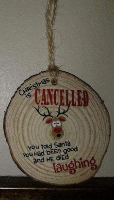 Wood Ideas Gift Christmas Ornament 63 Ideas For 2019 Christmas Ornaments To Make, Homemade Christmas, Rustic Christmas, Christmas Art, Christmas Projects, Holiday Crafts, Christmas Holidays, Christmas Bulbs, Christmas Ideas