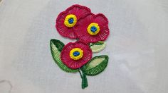 Button hole ruffle stitch/kaj tanka/hand embroidery