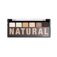 Paleta Farduri NYX The Natural Shadow doar pe http://www.makeup-shop.ro