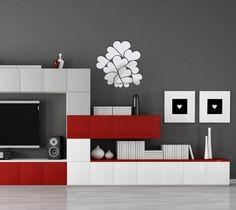 Originálne nástenné zrkadlá srdcia Shelving, Design, Home Decor, Shelves, Decoration Home, Room Decor, Shelving Units, Home Interior Design