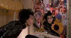 Eduardo Scissorhands, Edward Scissorhands Movie, Movies Showing, Movies And Tv Shows, Scissors Hand, Amblin Entertainment, Ghost World, Johny Depp, Movie Shots