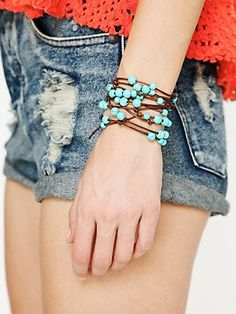 Love this leather wrap bracelet!