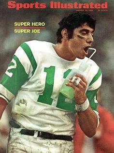 Broadway Joe Namath #NYJets #NFL