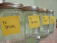 One Day of Water Storage. Water Storage 101