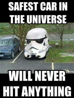 Ohhhhhh stormtrooper humor                                                                                                                                                      More