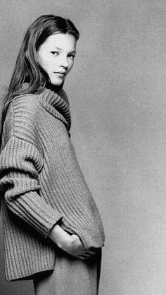 Kate Moss for Calvin