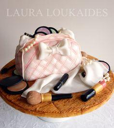 Make Up Bag Cake — Clothing / Shoe / Purse