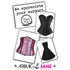 """""""Thanks for the Support""""  #ICRAVE http://www.polyvore.com/cgi/group.show?id=190093 #atomicjane @Atomic_Jane1  http://atomicjaneclothing.com"""