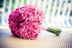 Brautstrauß Hortensie