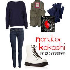 """Naruto: Kakashi"" by mintyghost on Polyvore"