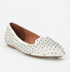 Jeffrey Campbell must have flats.
