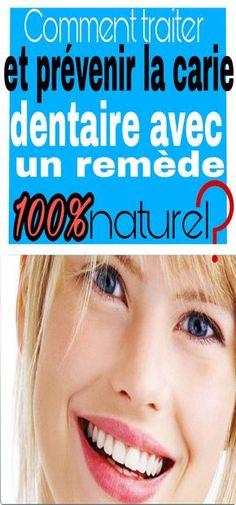 Comment traiter et prévenir la carie dentaire avec un remède 100% naturel ?  #carie #dentaire Hygiene, Health Fitness, Dental Caries, Flat Belly, Natural Remedies, Hair, Health And Fitness, Fitness